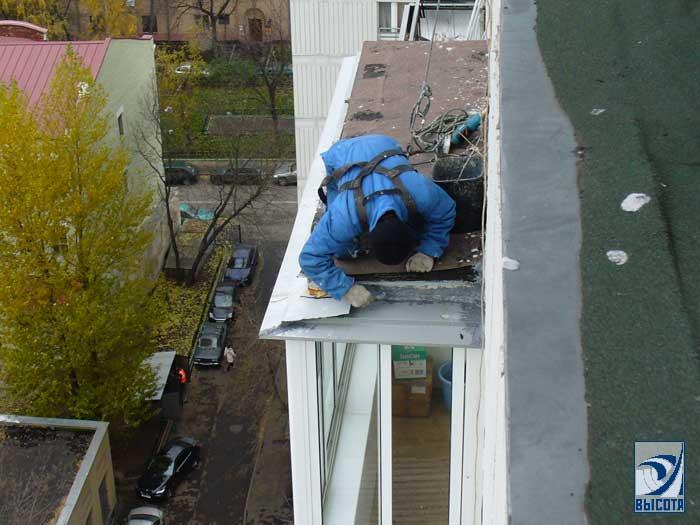Ремонт балконов-монтаж отливов, козырьков в самаре / купить,.