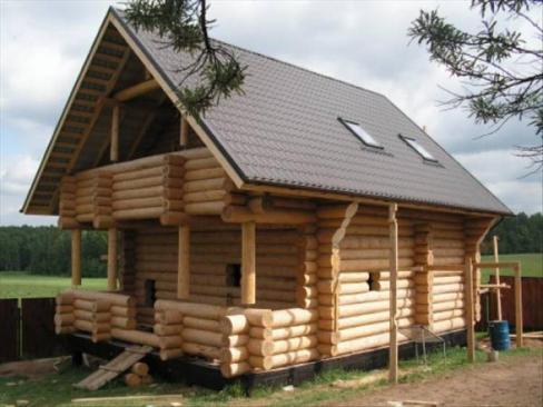 Строительство дачных домов и бань в разделе Строительство и ремонт