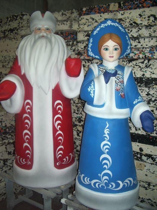 Фигурка снегурочки своими руками
